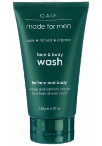 GAIA MADE for MEN Face & Body Wash for Men