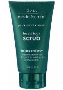 GAIA MADE for MEN Face & Body Scrub for Men
