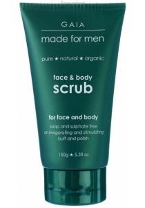 GAIA MADE for MEN Face & Body Scrub for Men