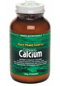 GREEN NUTRITIONALS Green Calcium (Plant Source) Powder (100g)