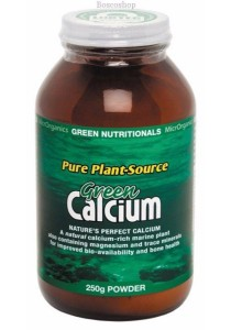 GREEN NUTRITIONALS Green Calcium (Plant Source) Powder (250g)