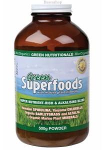 GREEN NUTRITIONALS Green Superfoods Powder (500g)
