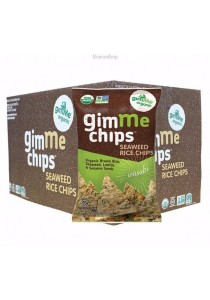 GIMME Seaweed Rice Chips (Wasabi) (Box of 12)