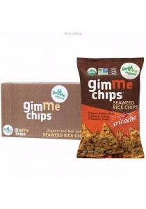 GIMME Seaweed Rice Chips (Sriracha) (Box of 12)