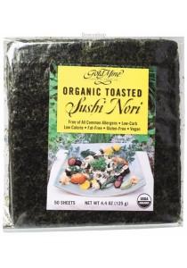 GOLD MINE Sushi Nori Organic Toasted (50 Sheets)