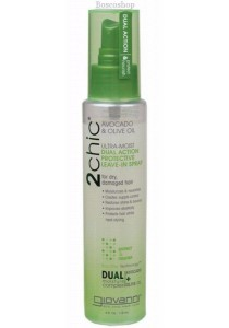 GIOVANNI Leave-in Spray - 2chic Ultra-Moist (Dry, Damaged Hair)