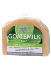 HARMONY SOAPWORKS Goat's Milk Soap (Lime & Lemongrass)