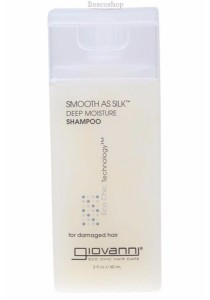 GIOVANNI Shampoo Smooth As Silk (Damaged Hair) (60ml)