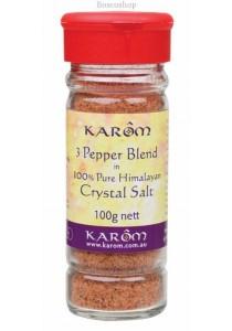KAROM Himalayan Salt Spicy 3 Pepper Blend