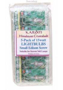 KAROM Lightbulbs - 15 Watt For Karom Salt Lamps