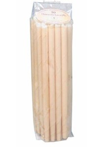 HONEYCONE Ear Candles 100% Unbleached Cotton (20 Ear Candles)