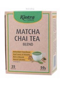 KINTRA FOODS Matcha Chai Tea Tea Bags x 25