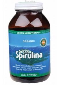 GREEN NUTRITIONALS Mountain Organic Spirulina Powder (250g)