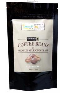 NOOSA NATURAL CHOC. CO. Chocolate Coffee Beans Milk Chocolate