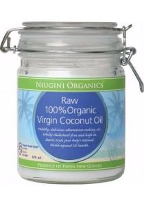 NIUGINI ORGANICS Virgin Coconut Oil 100% Pure (650ml)