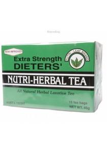 NUTRI-LEAF Herbal Tea Bags Dieter's Tea - Extra Strength