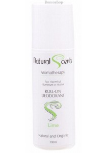 NATURAL SCENTS Roll-on Deodorant (Lime)