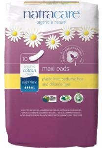 NATRACARE Maxi Pads (Night Time)