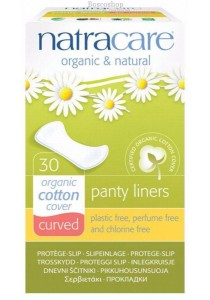 NATRACARE Panty Liners (Curved)