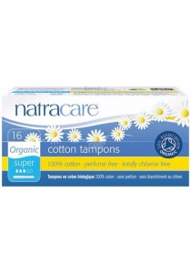 Natracare Tampons (With Applicator) Super (16 PACK)
