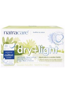 NATRACARE Incontinence Pads Dry & Light