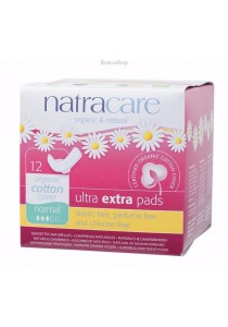 NATRACARE Ultra Extra Pads Normal (Wings)