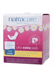 NATRACARE Ultra Extra Pads Long (Wings)