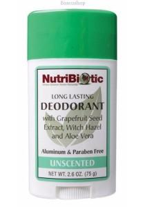NUTRIBIOTIC Deodorant Stick (Unscented)