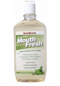 NUTRIBIOTIC Mouthwash Peppermint