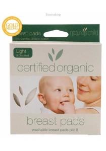 NATURE'S CHILD Cotton Breast Pads (Light)