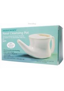 ANCIENT SECRETS Nasal Cleansing Pot Neti Pot - Ceramic