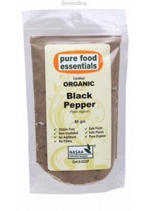 PURE FOOD ESSENTIALS Spices (Black Pepper Powder)