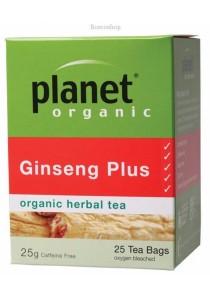 PLANET ORGANIC Herbal Tea Bags (Ginseng Plus)