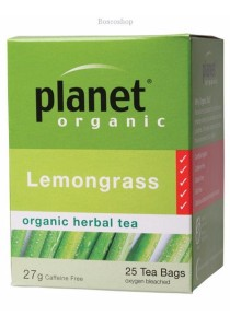 PLANET ORGANIC Herbal Tea Bags (Lemongrass)