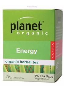 PLANET ORGANIC Herbal Tea Bags (Energy)
