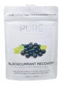 PURE SPORTS NUTRITION Blackcurrant Recovery With Natural Anthocyanins