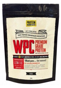 PROTEIN SUPPLIES AUST. WPC (Whey Protein Concentrate) Pure (500g)