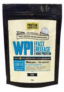 PROTEIN SUPPLIES AUST. WPI (Whey Protein Isolate) Pure - 90g Protein/100g (500g)