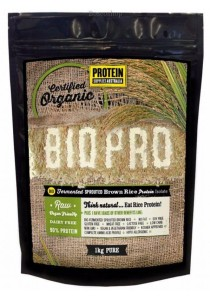 PROTEIN SUPPLIES AUST. BioPro (Sprouted Brown Rice) Pure (1kg)