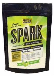 PROTEIN SUPPLIES AUST. Spark (All Natural Pre-workout) Green Apple (500g)