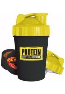 PROTEIN SUPPLIES AUST. Multi Compartment Shaker Vitamin & Protein Storage