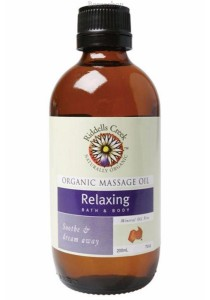 RIDDELLS CREEK Massage Oil (Relaxing)