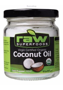 RAW SUPERFOODS Coconut Oil Cold Pressed (200ml)