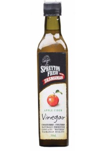 SPREYTON FRESH Apple Cider Vinegar (Glass) Unpasteurised & Unfiltered (500ml)