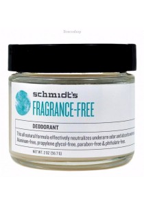 SCHMIDT'S Deodorant Jar (Fragrance Free)