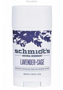 SCHMIDT'S Deodorant Stick (Lavender & Sage)