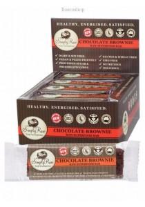 SIMPLY RAW Chocolate Brownie Raw Superfood Bar - Box of 20