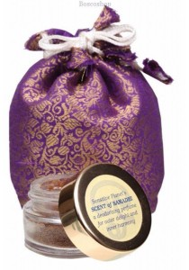 SCENT OF SAMADHI Herbal Perfume With Sandalwood and Tulsi