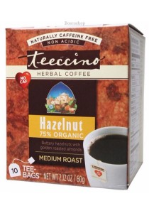 TEECCINO Herbal Coffee Bags (Hazelnut)