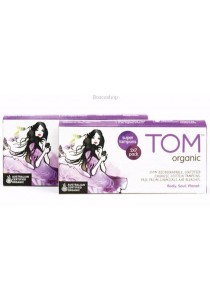 TOM ORGANIC Tampons Super